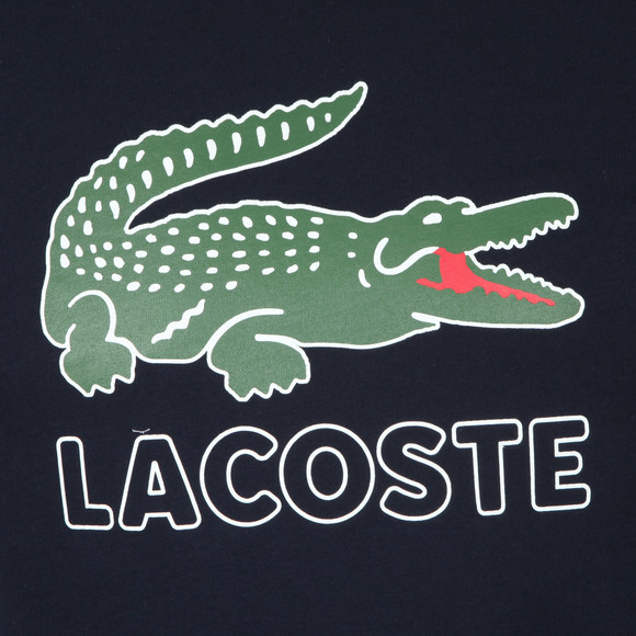 Lacoste Mens Blue TH6386 Print Tee main image