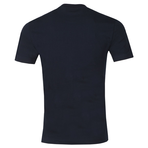 Lacoste Mens Blue TH6386 Print T-Shirt main image