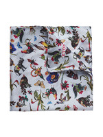 Flower Animal Pocket Square