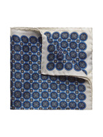 Circle Print Pocket Square