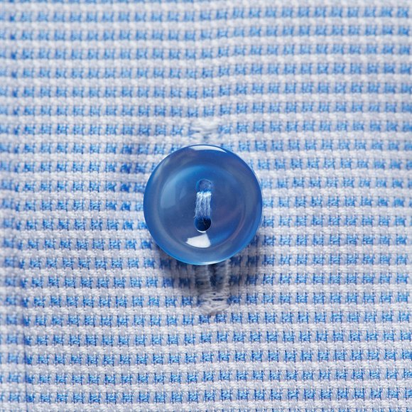 Eton Mens Blue Slim Self Pattern Shirt main image