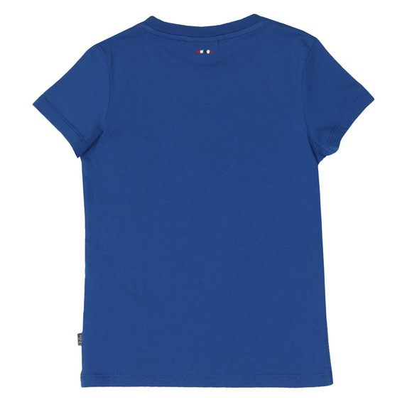 Napapijri Boys Blue Expedition Camp T Shirt