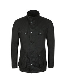 Barbour International Mens Black Lightweight Duke Wax Jacket