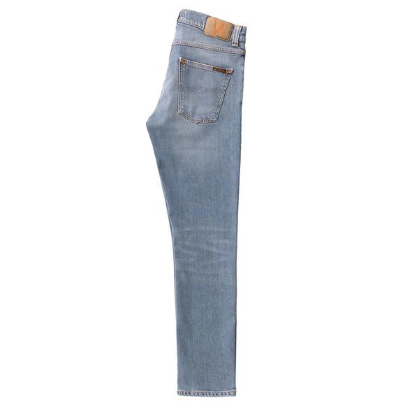 Nudie Jeans Mens Blue Lean Dean Jean main image
