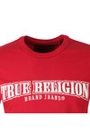 True Religion Mens Red Arch True T Shirt