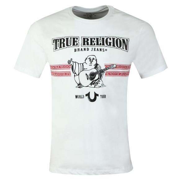 True Religion Mens White New True Craft T Shirt main image