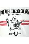 True Religion Mens White New True Craft T Shirt