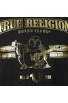True Religion Mens Black New True Craft T Shirt