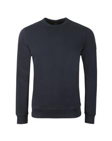 BOSS Mens Blue Casual Walkup Sweatshirt