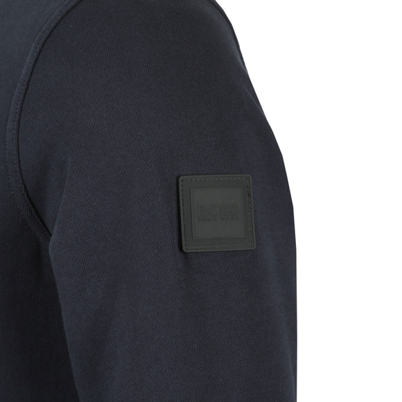 BOSS Mens Blue Casual Walkup Sweatshirt main image