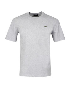 Lacoste Sport Mens Grey TH7618 Plain T-Shirt