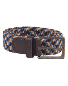 Barbour Lifestyle Mens Blue Ford Belt