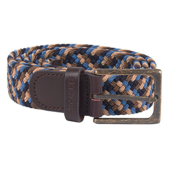 Barbour Lifestyle Mens Blue Ford Belt main image