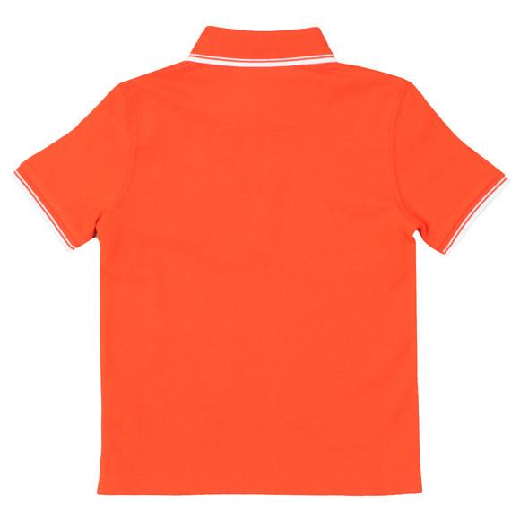 BOSS Boys Orange Tipped Polo Shirt main image