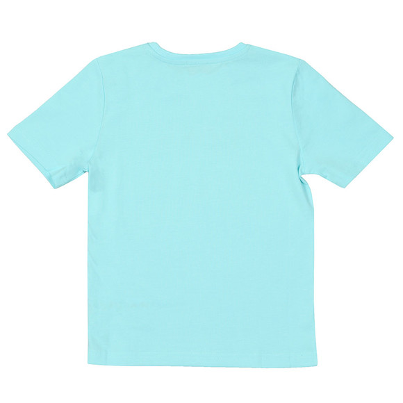 BOSS Boys Blue J25P13 Logo T Shirt main image