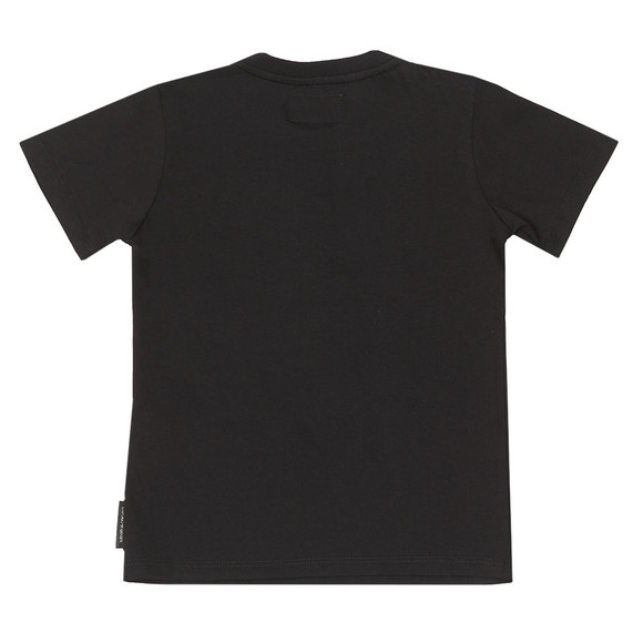 Emporio Armani Boys Black Large Eagle  T Shirt main image