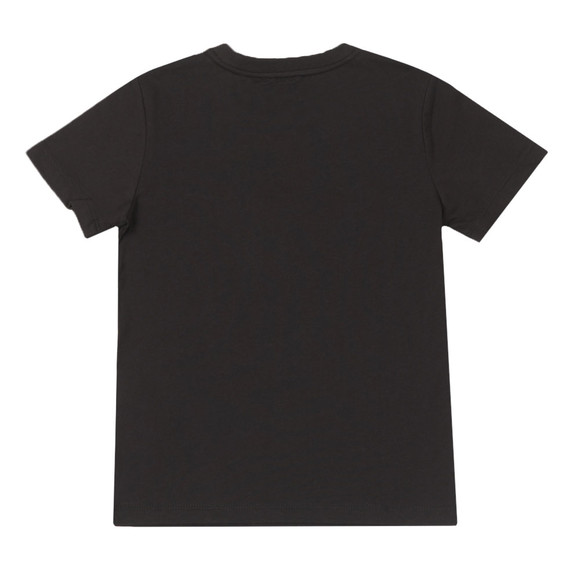 EA7 Emporio Armani Boys Black Side Logo T Shirt main image