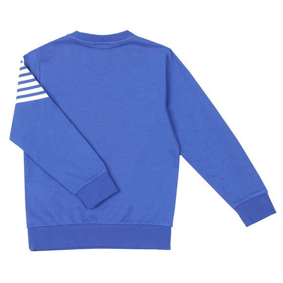 EA7 Emporio Armani Boys Blue Side Logo Sweatshirt main image