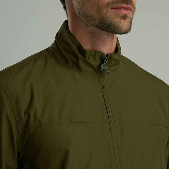 Barbour Int. Steve McQueen Mens Green Olympic Jacket main image