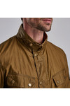 Barbour International Mens Beige Lightweight Duke Wax Jacket
