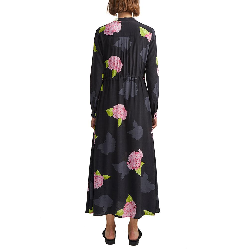 Eleonore Drape Midi Shirt Dress main image