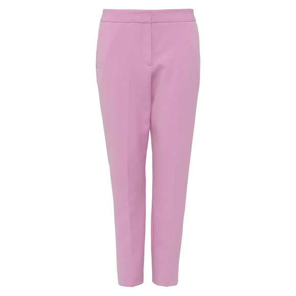 French Connection Womens Pink Sundae Suiting Tailored Trouser main image