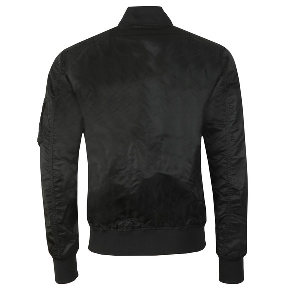 Alpha Industries Mens Black Moon Landing Reversible Bomber main image