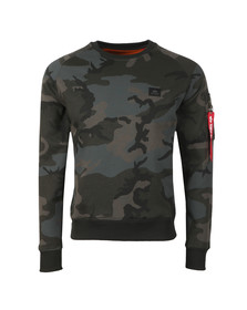 Alpha Industries Mens Black X Fit Sweatshirt