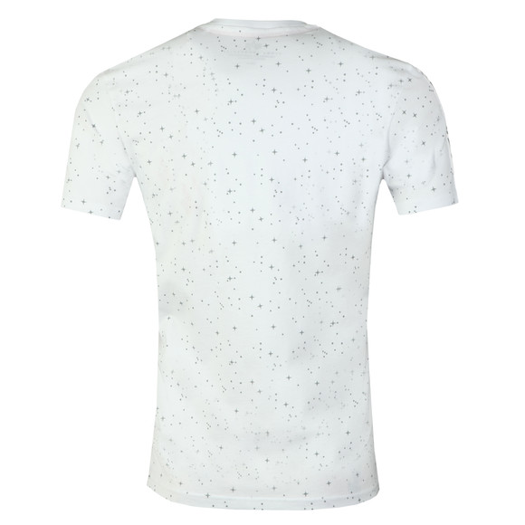 Alpha Industries Mens White Nasa Tape T Shirt main image