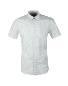 PS Paul Smith Mens White S/S Print Shirt