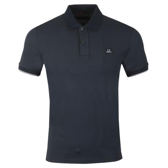 C.P. Company Mens Blue Tacting Polo Shirt