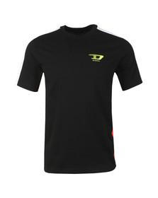 Diesel Mens Black T Harus T Shirt