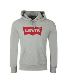 Levi's Mens Grey Batwing Hoodie