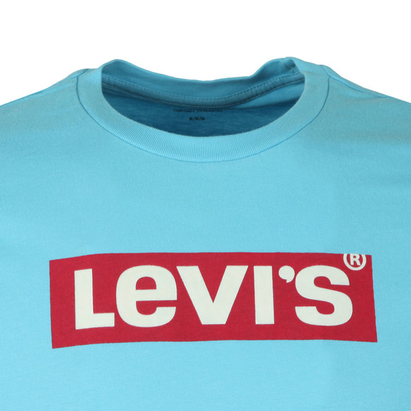 Levi's Mens Blue Boxtab Graphic Tee main image