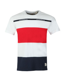 Levi's Mens White Mighty Made Taped Tee