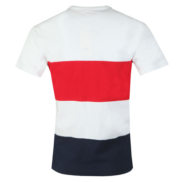 Levi's Mens White Mighty Made Taped Tee main image