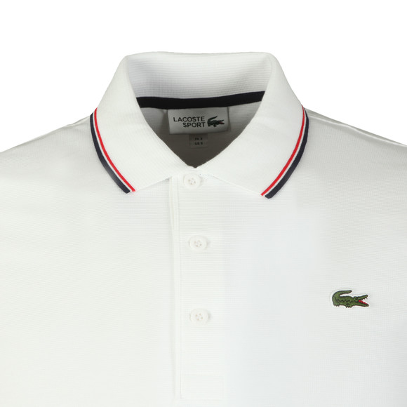 Lacoste Sport Mens Blue YH7900 Tipped Polo Shirt main image