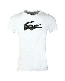 Lacoste Sport Mens White TH3377 Tee