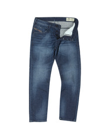 Diesel Mens Blue Bazer Tapered Jean