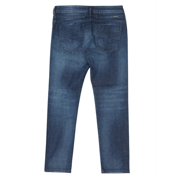 Diesel Mens Blue Bazer Tapered Jean main image