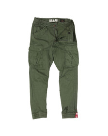 Alpha Industries Mens Green Airman Vintage Cargo Trouser