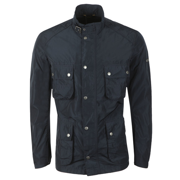 Barbour International Mens Blue Weir Casual Jacket