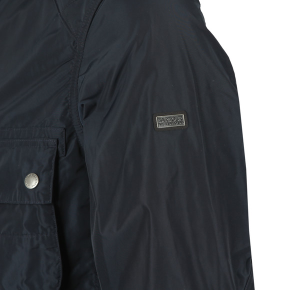 Barbour International Mens Blue Weir Casual Jacket main image