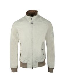 Barbour Int. Steve McQueen Mens Beige Rectifier Harrington Casual Jacket