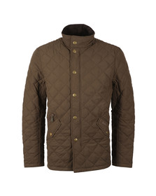 Barbour Lifestyle Mens Green Shoveler  Quilt Jacket