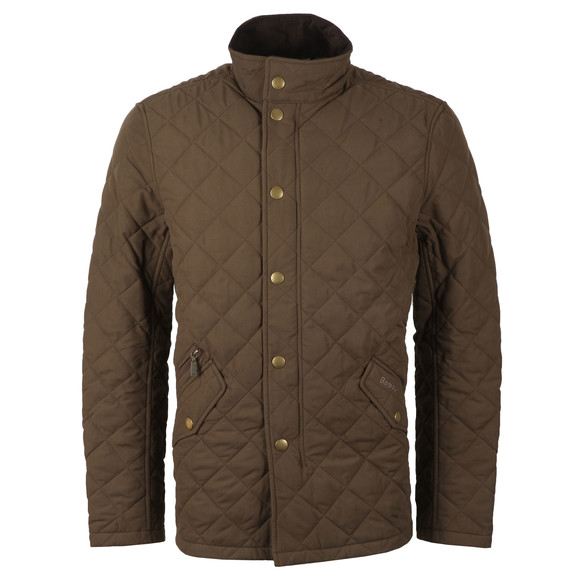 Barbour Countrywear Mens Green Shoveler  Quilt Jacket