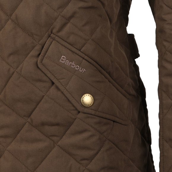 Barbour Lifestyle Mens Green Shoveler  Quilt Jacket main image