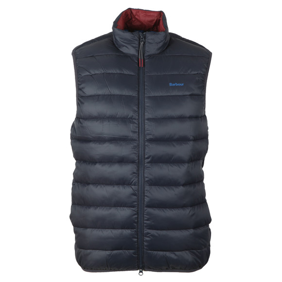 Barbour Lifestyle Mens Blue Crone Gilet main image