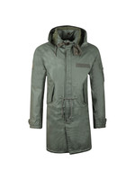 Detachable Hooded Parka
