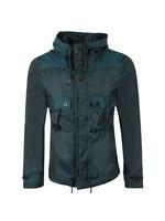 Iridescent Hooded Jacket